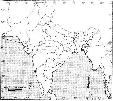 Class 12 History Solved Paper (2017 Delhi Set-I) Humanities/Arts Notes   EduRev