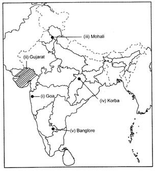 Class 12 Geography Solved Paper (2017 Delhi Set-I) Humanities/Arts Notes | EduRev