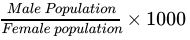 NCERT Solutions - Population Composition in Geography Humanities/Arts Notes | EduRev