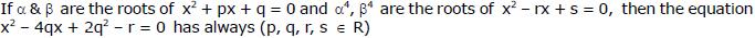 Doc: Quadratic Equations JEE Notes   EduRev