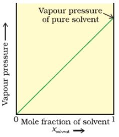 Vapour Pressure of Liquid Solutions Class 12 Notes | EduRev