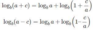 Logarithm Formula Commerce Notes | EduRev