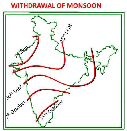 Seasons in Indian (Part - 2) - Geography, UPSC, IAS. UPSC Notes | EduRev