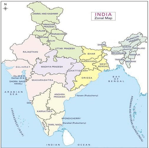 Introduction To Indian Geography - Geography, UPSC , IAS UPSC Notes | EduRev