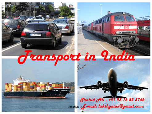 Transport in India (Part - 1) - Indian Geography, UPSC, IAS. UPSC Notes | EduRev