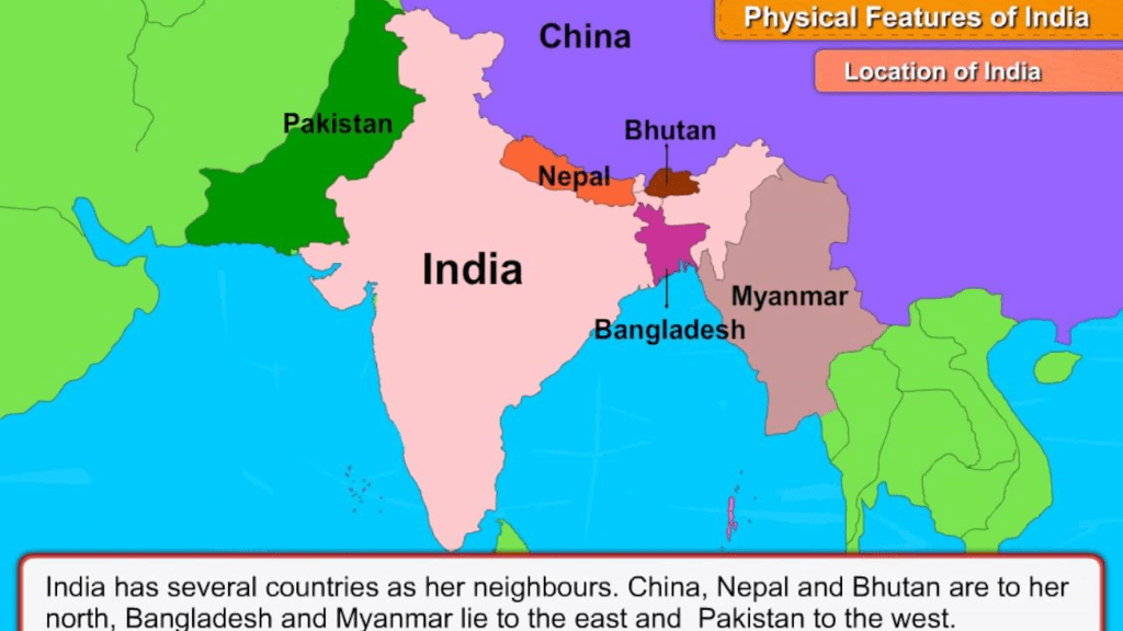 Chapter Notes - Our Country India Class 6 Notes | EduRev