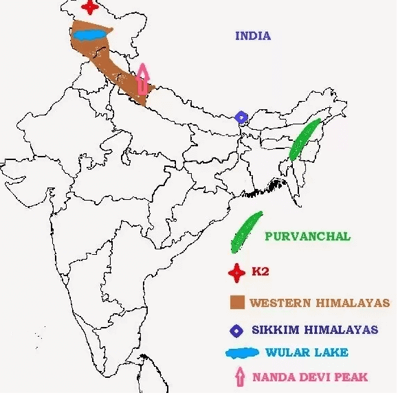 Long Answer Questions Chapter 2 - Physical Features of India, Class 9, SST (Geography) | EduRev Notes
