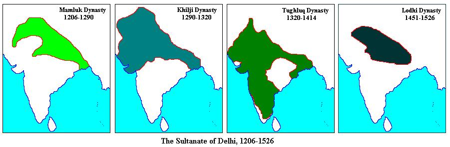 NCERT Gist: THE DELHI SULTANATE UPSC Notes | EduRev