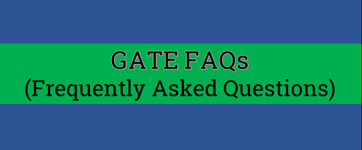 General FAQs regarding GATE GATE Notes | EduRev
