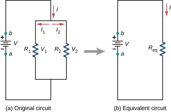 Combination of Resistors: Series and Parallel Class 12 Notes | EduRev