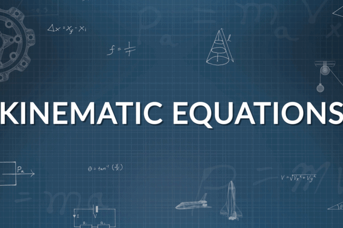 Kinematic Equations for Uniformly Accelerated Motion Class 11 Notes   EduRev