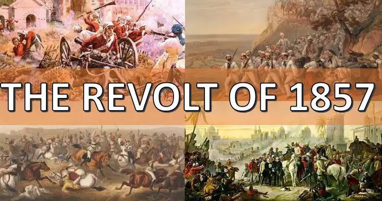 Spectrum: Summary of The Revolt of 1857 UPSC Notes | EduRev