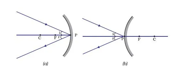 Image Formation by Concave and Convex Mirror Class 10 Notes | EduRev