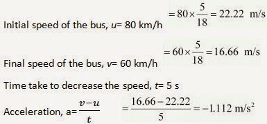 NCERT Solutions - Motion, Class 9, Science | EduRev Notes