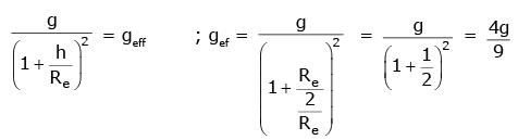 NEET Previous Year Questions (2014-20): Gravitation Class 11 Notes   EduRev