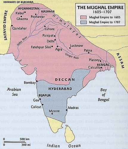 NCERT Solution - The Mughal Empire Class 7 Notes | EduRev