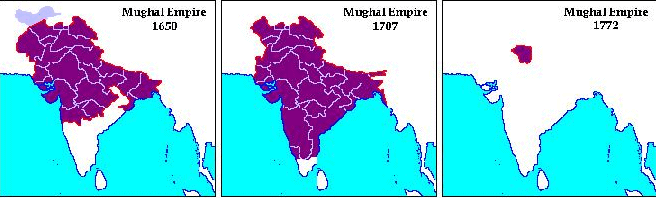 Cause Of The Decline Of Mughal Empire UPSC Notes | EduRev