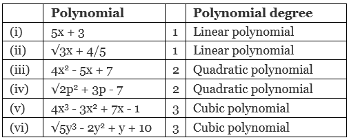 Facts That Matter- Polynomials Class 10 Notes | EduRev