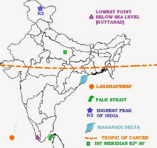 Long Answer Questions Chapter 1 - India - Size and Location, Class 9, SST (Geography) | EduRev Notes