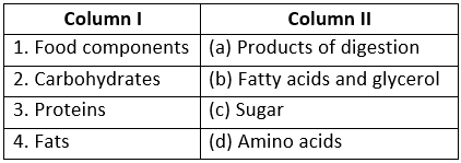 Short Question Answers - Nutrition in Animals Class 7 Notes | EduRev