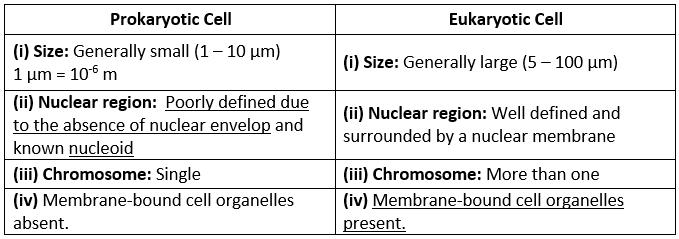NCERT Solutions - The Fundamental Unit Of Life Class 9 Notes   EduRev