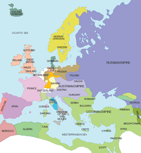Key Concepts Chapter 1 - The Rise of Nationalism in Europe, SST (History) Class 10 | EduRev Notes