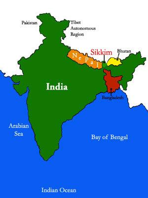 Extra Question & Answers (Part - 1) - India: Size And Location Class 9 Notes | EduRev