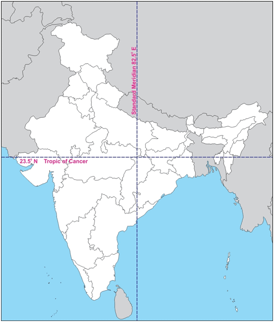 Detailed Chapter Notes - India-Size and Location, SST, CBSE Class 9 | EduRev Notes