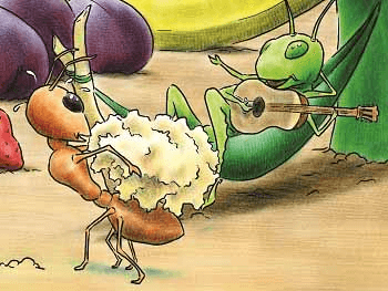 NCERT Solutions: Poem - The Ant and the Cricket Class 8 Notes | EduRev