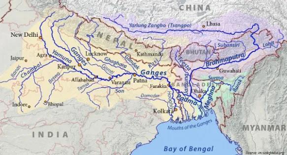 NCERT Gist: Drainage System (Part - 1) UPSC Notes | EduRev