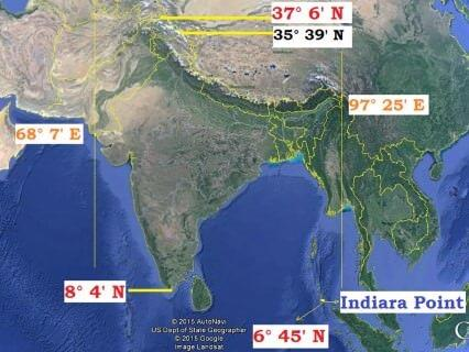 Short Answer Questions Chapter 1 - India - Size and Location, Class 9, SST (Geography)   EduRev Notes