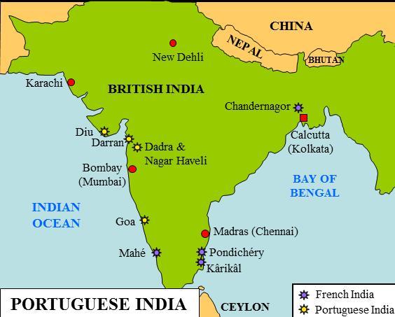 Spectrum: Summary of Advent of the Europeans in india Notes | EduRev