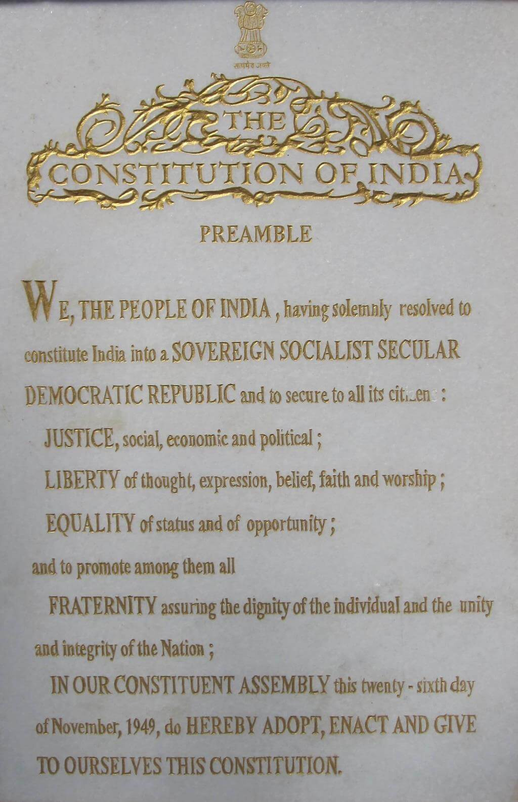 Salient Features of The Indian Constitution UPSC Notes | EduRev