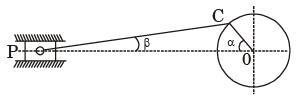 GATE Past Year Questions: Slider - Crank Mechanism Notes | EduRev