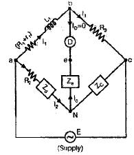 Chapter 1 (Part 1) AC Bridges - Notes, Electrical