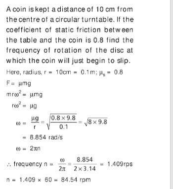 Circular rotation JEE Notes | EduRev