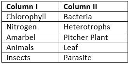 Short Question Answer - Nutrition in Plants Class 7 Notes   EduRev