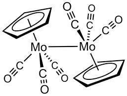 Cyclopentadienylmolybdenum tricarbonyl dimer - Wikipedia