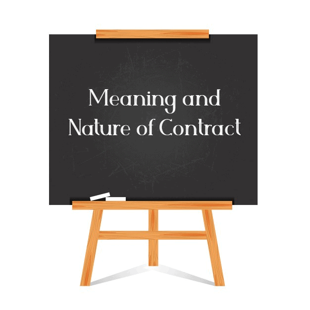 Nature of Contracts (Part - 1) CA Foundation Notes | EduRev