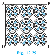 NCERT Solutions - Chapter 12: Area Related to Circles, Class 10