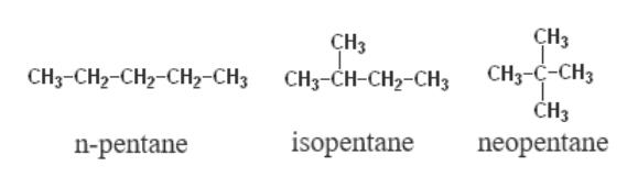 The number of chain isomers for C5H12 is :