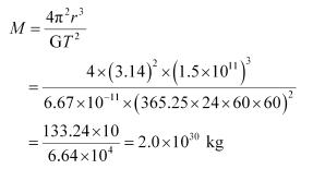 NCERT Solutions - Gravitation Class 11 Notes   EduRev