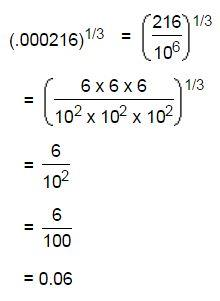 Square Root and Cube Root mcq solution image