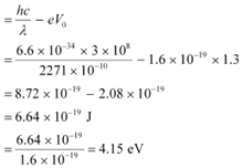 NCERT Solutions (Part - 2)- Dual Nature of Radiation and Matter Class 12 Notes | EduRev