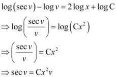 NCERT Solutions (Part - 2) - Differential Equations JEE Notes | EduRev