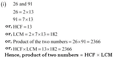 NCERT Exercise 1 2 Solution - Real Numbers, Class 10